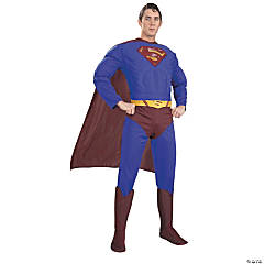 Superman™ Muscle Costume for Men