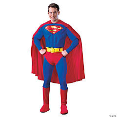 Superman Muscle Deluxe Adult Men's Costume