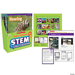 Superscience Stem Instant Activities, Grades 4-6