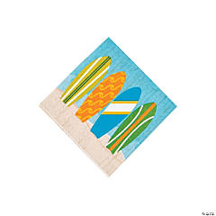 Surf's Up Beverage Napkins