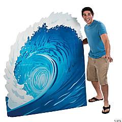 Surf Wave Cardboard Stand-Up