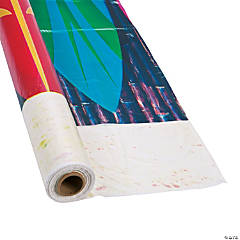 Surfboard Plastic Tablecloth Roll