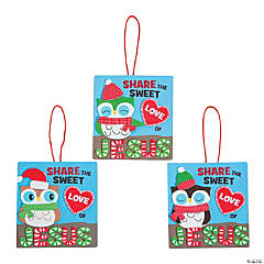 Sweet Love of Jesus Owl Christmas Ornament Craft Kit