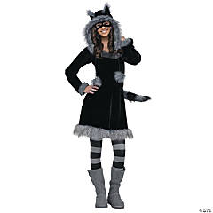 Sweet Raccoon Teen Girl's Costume