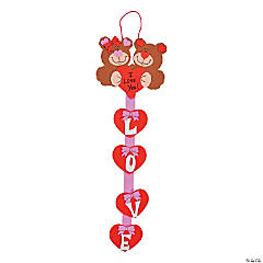 Sweetheart Bears Door Hanger Craft Kit