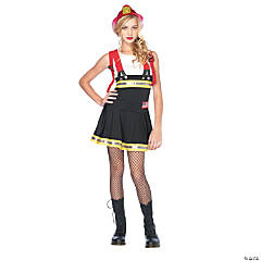 Sweetheart Firefighter Jr. Girl's Costume