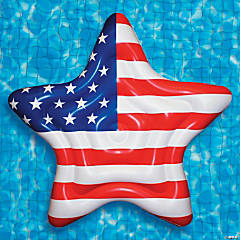 Swimline® Inflatable Americana Island Pool Float