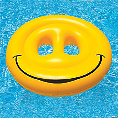 Swimline Inflatable Giant Smile Pool Float