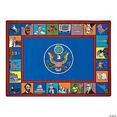 Symbols Of America® Classroom Rug