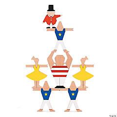 Ta-Da Wooden Circus Balancing Game