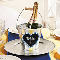 Table Number Bucket Idea