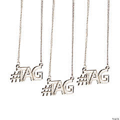 #Tag Necklaces