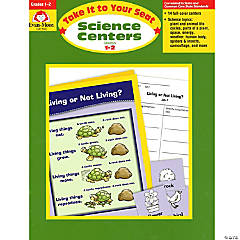Take It to Your Seat Science Centers Book, Grades 1-2