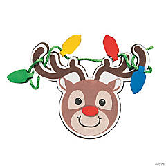 Tangled Up Reindeer Magnet Craft Kit