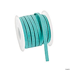 Teal Faux Leather Cording