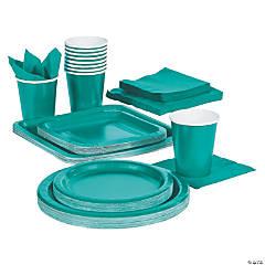 Teal Lagoon Tableware