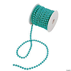 Teal Spool of Pearls
