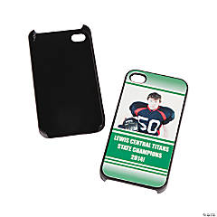 Team Spirit Custom Photo Black iPhone® 4/4S Case - Green