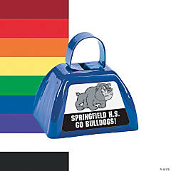 Team Spirit Custom Photo Cowbells