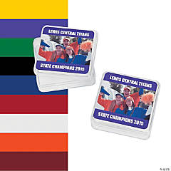Team Spirit Custom Photo Square Containers