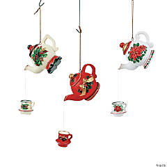Teapot Christmas Ornaments