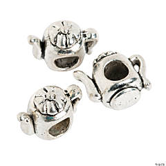 Teapot Large Hole Beads - 14mm