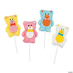 Teddy Bear Marshmallow Pops