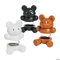 Teddy Bear Spring Characters
