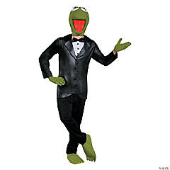 Teen Boy's Deluxe Kermit Costume - Medium