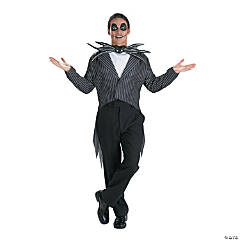 Teen Boy's Nightmare Before Christmas Jack Skellington Costume