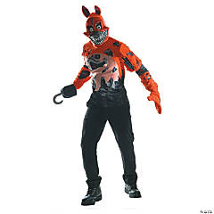 Teen Boy's Nightmare Foxy Costume