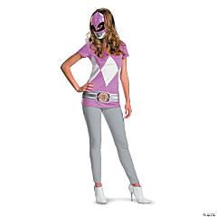Teen Girl's Alternative Pink Ranger Costume