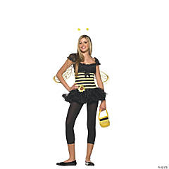 Teen Girl's Bee Sunflower Costume