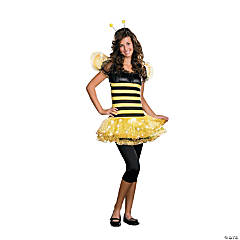 Teen Girl's Busy Bee Costume