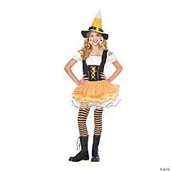 Teen Girl's Candy Spellcaster Jr. Costume