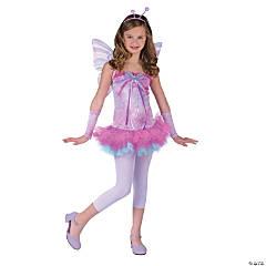 Teen Girl's Fluttery Butterfly Costume