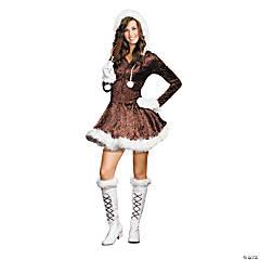 Teen Girl's Junior Eskimo Cutie Pie Costume