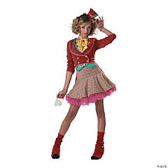 Teen Girl's Junior Mad Hatter Costume