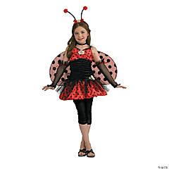 Teen Girl's Ladybug Costume