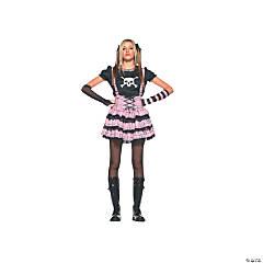 Teen Girl's Punk Rock Princess Costume