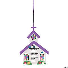 Ten Commandments for Kids Sign Craft Kit