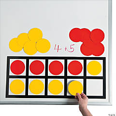 Ten Frame Math Magnets