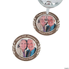 50th Anniversary Custom Photo Coasters