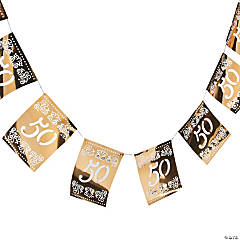 50th Anniversary Cutout Garland