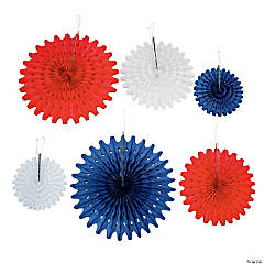 4th of July Hanging Fans
