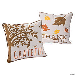 Thankful & Grateful Pillow Set