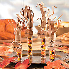 Thanksgiving Candy Tube Idea