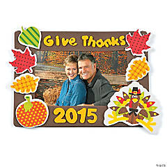 2015 Thanksgiving Picture Frame Craft Kit