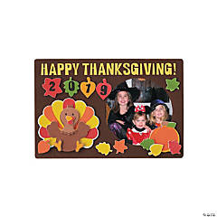 Thanksgiving Picture Frame Magnet Craft Kit