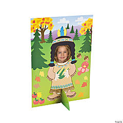 Thanksgiving Picture Frame Sticker Scenes